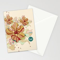 out flowers Stationery Cards