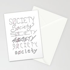 Six Societies Stationery Cards