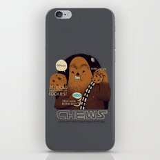 chews iPhone & iPod Skin