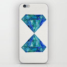 Aquamarine iPhone Skin