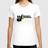 model T-shirts featuring Model by Tali Rachelle