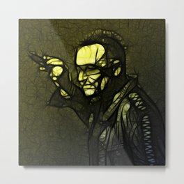 U2 / Bono 1 Metal Print