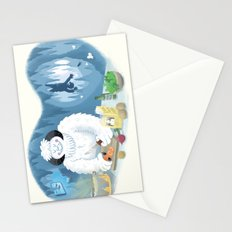 Frozen Dinner Stationery Cards