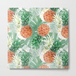 Pineapples. Metal Print