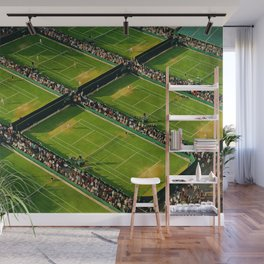 Tennis at Wimbledon Wall Mural