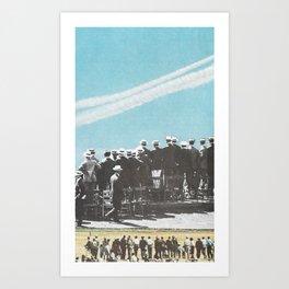 chemtrails Art Print
