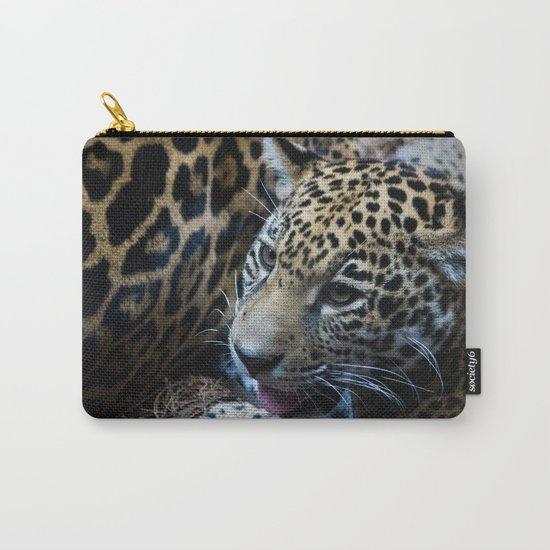 Jaguar Cub Carry-All Pouch