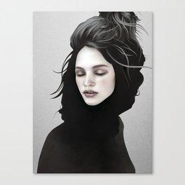 Elsewhere Girl Canvas Print