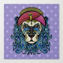 King and Lionheart Canvas Print