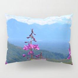 Fireweed Overlooking Mat-Su Valley, Alaska Pillow Sham