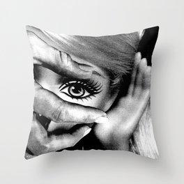 HAND-EYE COORDINATION No.2 Throw Pillow