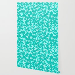 Blue Green Abstract Wallpaper