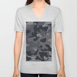 MIlitary camouflage Unisex V-Neck