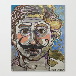 Monsieur Gainsbourg Canvas Print