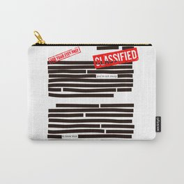 Censored text (Classified information) Carry-All Pouch