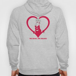 THE HEART SHE HOLLERS Hoody