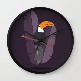 Toucan card - Welcome Wall Clock