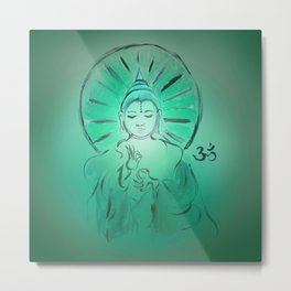 Queer Buddha - Joy IV Metal Print