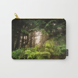 The Light Within - Beauty in the Washington Rain Forest Carry-All Pouch