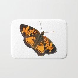 Checkerspot Butterfly Bath Mat