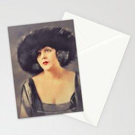 Barbara La Marr, Vintage Actress Stationery Cards