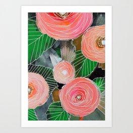 Botanic no. 2 Art Print