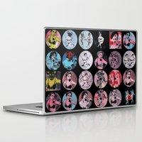 pinup Laptop & iPad Skins featuring Pinup Girls by Gingerblah  Justin Cownden