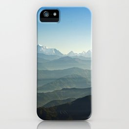 Hima - Layers iPhone Case