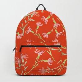 Vintage florals - Ragged Robin Backpack