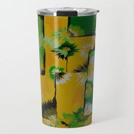 Lemon Lime Blossom Query Travel Mug