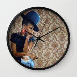 Miss Badu Wall Clock