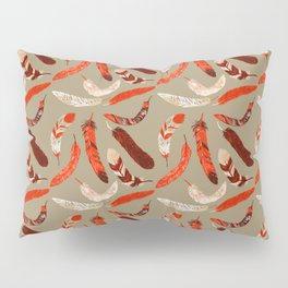 Flying Feathers Pillow Sham