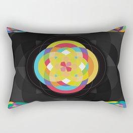 Sacred tiles Rectangular Pillow