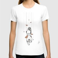 burlesque T-shirts featuring Burlesque by Libby Watkins Illustration
