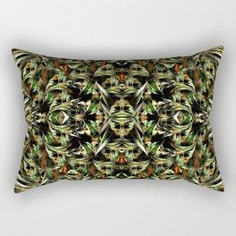 Greenfield pattern Rectangular Pillow