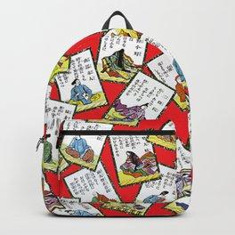 Vintage oriental pattern Backpack