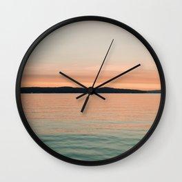 Summer Sun Wall Clock