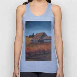 Autumn in the Country Unisex Tank Top