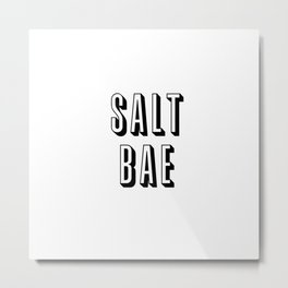 Salt Bae Metal Print
