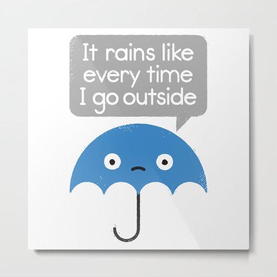Umbrellativity Metal Print