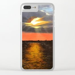 Sunset May 5, 2006 Clear iPhone Case