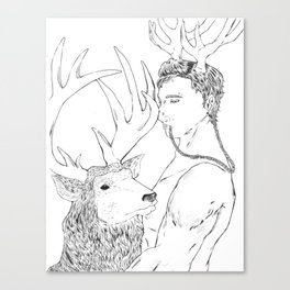 Stagnant B&W Canvas Print