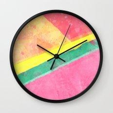 Twisted Melon Wall Clock