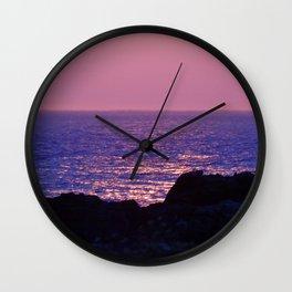 Pink at Dawn Wall Clock