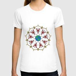 Crawfish Mandala T-shirt