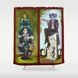 The Haunted Nein Shower Curtain