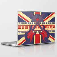 british Laptop & iPad Skins featuring British Rock by Ornaart