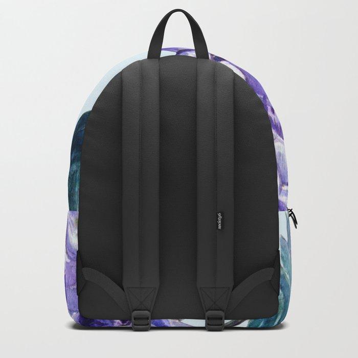 Hydrangea blue hues Backpack