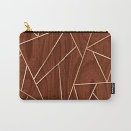 Pandemic Copper & Mahogany Carry-All Pouch