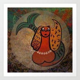 Mythical Mermaid / Icon Art Print
